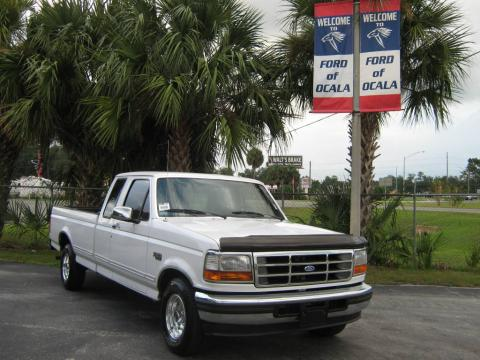 Oxford White Ford F150 XLT Extended Cab.  Click to enlarge.