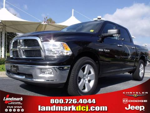 new 2009 dodge ram 1500 big horn edition crew cab for sale. Black Bedroom Furniture Sets. Home Design Ideas