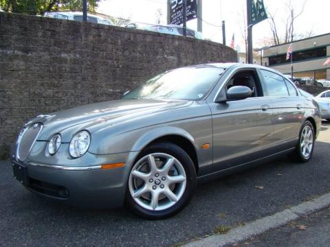 Quartz Metallic Jaguar S-Type 4.2.  Click to enlarge.