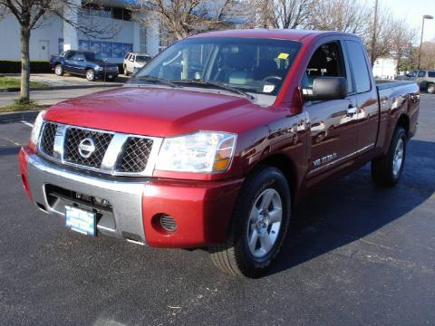 used 2007 nissan titan se king cab for sale stock lc79589 dealer car ad. Black Bedroom Furniture Sets. Home Design Ideas