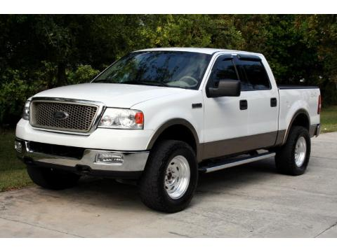 used 2004 ford f150 lariat supercrew 4x4 for sale stock c75270 dealer car. Black Bedroom Furniture Sets. Home Design Ideas