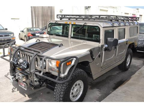Metallic Pewter 2006 Hummer H1 Alpha Wagon with Ebony/Brown interior