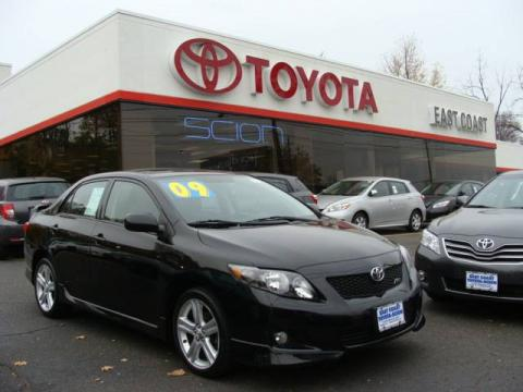 used 2009 toyota corolla xrs for sale stock 13119 dealer car ad 21454451. Black Bedroom Furniture Sets. Home Design Ideas