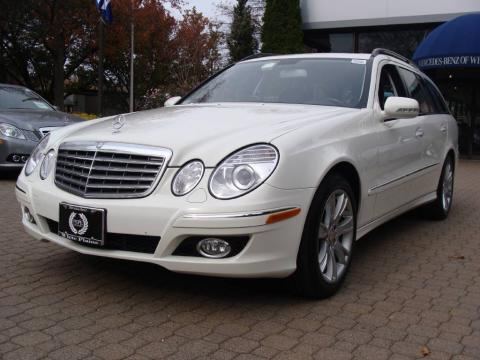 Used 2009 mercedes benz e 350 4matic wagon for sale for White plain mercedes benz