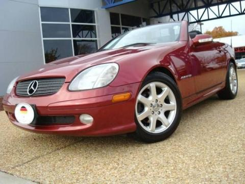 Used 2003 mercedes benz slk 230 kompressor roadster for Tysinger motor company
