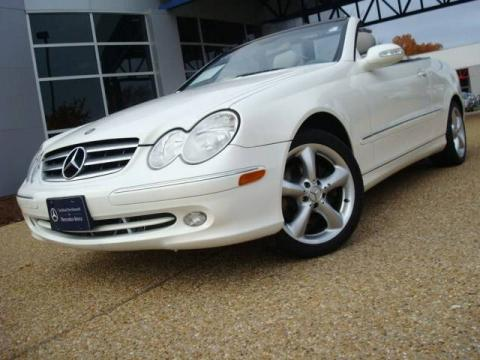 Used 2005 mercedes benz clk 320 cabriolet for sale stock Tysinger motor company
