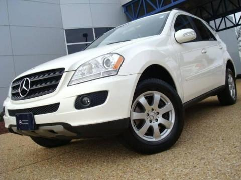 Used 2006 mercedes benz ml 350 4matic for sale stock Tysinger motor company