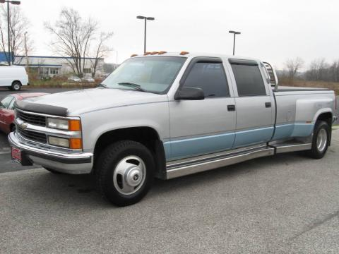 used 1997 chevrolet c k 3500 c3500 crew cab dually for. Black Bedroom Furniture Sets. Home Design Ideas