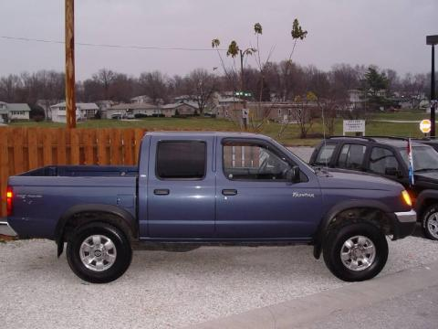used 2000 nissan frontier xe crew cab 4x4 for sale stock d1825a dealer car. Black Bedroom Furniture Sets. Home Design Ideas