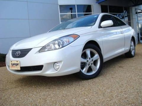 Used 2006 toyota solara sle v6 coupe for sale stock Tysinger motor company