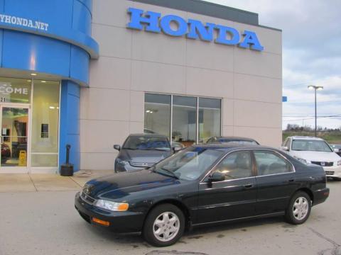 Used 1996 honda accord ex v6 sedan for sale stock for Used car commercial 1996 honda accord
