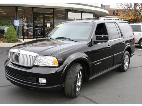 used 2006 lincoln navigator ultimate 4x4 for sale stock 1175a dealer car. Black Bedroom Furniture Sets. Home Design Ideas