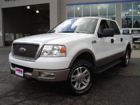 used 2005 ford f150 lariat supercrew 4x4 for sale stock 910120a. Black Bedroom Furniture Sets. Home Design Ideas