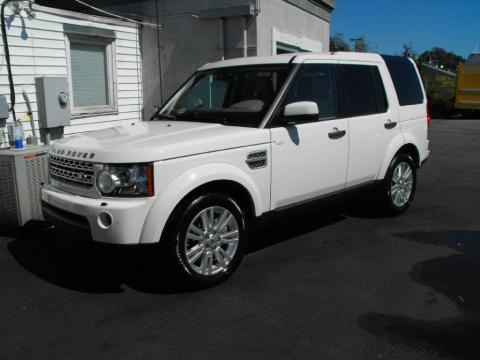 Land Rover Lr4 Interior. Alaska White 2010 Land Rover