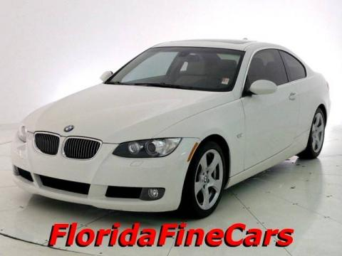 Alpine White 2008 BMW 3 Series 328i Coupe with Beige interior Alpine White