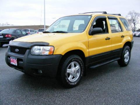 Used 2003 Ford Escape XLS V6 for Sale - Stock #7337T ...