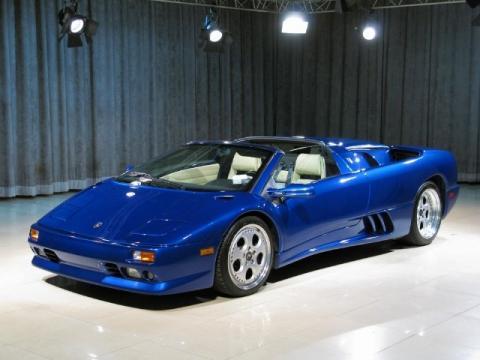Used 1998 Lamborghini Diablo Vt Roadster For Sale Stock A12889