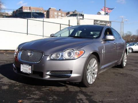 Lunar Grey Metallic Jaguar XF Premium Luxury.  Click to enlarge.