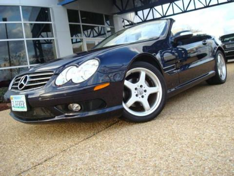 Used 2005 mercedes benz sl 500 roadster for sale stock Tysinger motor company