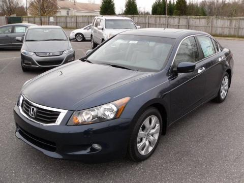 Exceptional Bali Blue Pearl Honda Accord EX L V6 Sedan. Click To Enlarge.