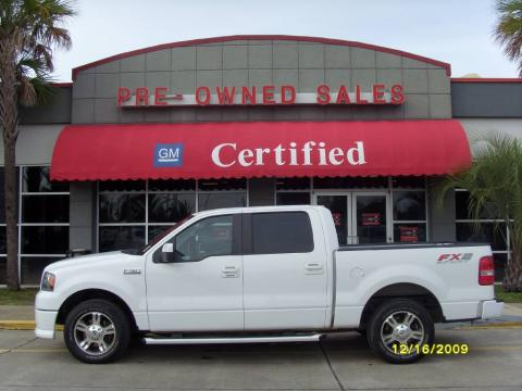 Used 2007 Ford F150 Fx2 Sport Supercrew For Sale Stock 9d5077a Dealer Car