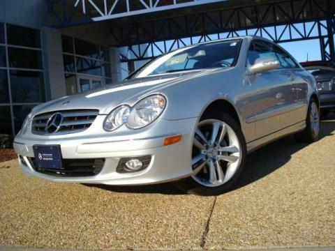 Used 2007 mercedes benz clk 350 coupe for sale stock Tysinger motor company
