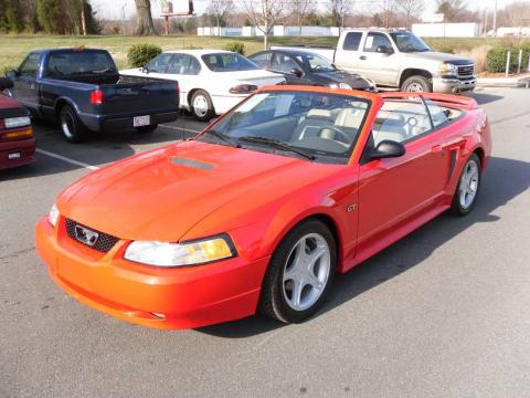 used 2000 ford mustang gt convertible for sale stock d000862 dealer car ad. Black Bedroom Furniture Sets. Home Design Ideas
