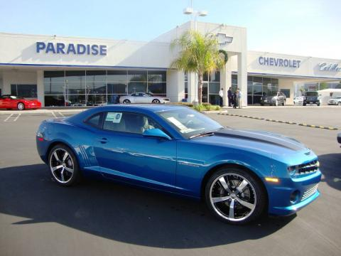 aqua blue metallic chevrolet camaro ss rs coupe click to enlarge. Cars Review. Best American Auto & Cars Review