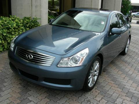 Lakeshore Slate Metallic Infiniti G 35 Sedan.  Click to enlarge.