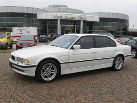 Alpine White BMW 7 Series 740iL Sedan Click To Enlarge