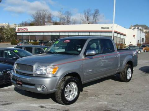 Silver Sky Metallic Toyota Tundra Darrell Waltrip Double Cab 4x4.  Click to enlarge.
