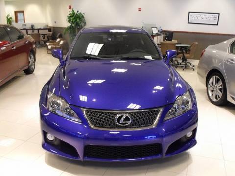 Lexus Isf Blue. Blue Mica Lexus IS F.