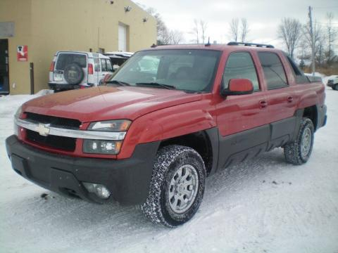 used 2003 chevrolet avalanche north face edition 4x4 for. Black Bedroom Furniture Sets. Home Design Ideas