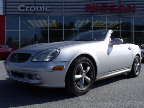used 2001 mercedes benz slk 320 roadster for sale stock n9958b dealer car. Black Bedroom Furniture Sets. Home Design Ideas