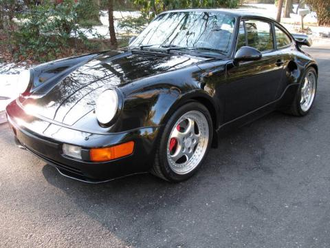 Black Porsche 911 Turbo 3.6.  Click to enlarge.