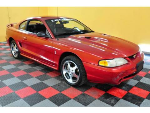 used 1996 ford mustang svt cobra coupe for sale stock. Black Bedroom Furniture Sets. Home Design Ideas