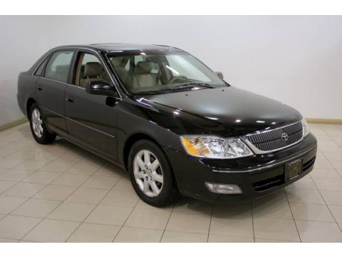 High Quality Black Toyota Avalon XLS. Click To Enlarge.