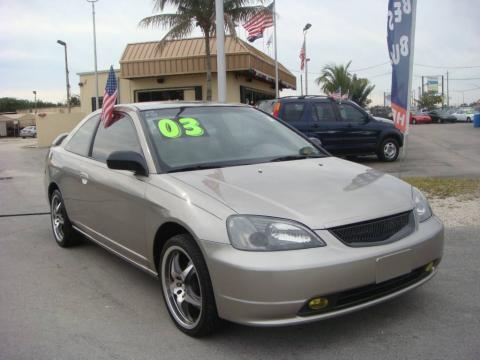 used 2003 honda civic lx coupe for sale stock 200641 dealer car ad 24753468. Black Bedroom Furniture Sets. Home Design Ideas