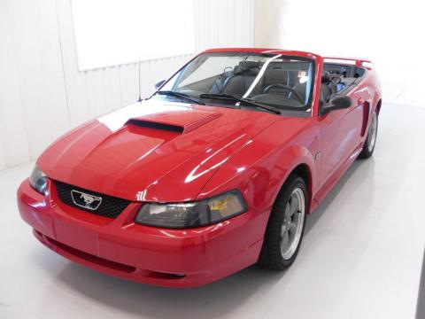 used 2002 ford mustang gt convertible for sale stock 8197b dealer car ad. Black Bedroom Furniture Sets. Home Design Ideas