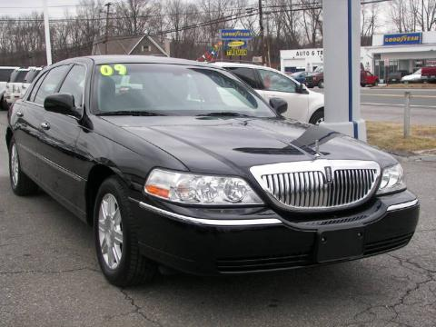 used 2009 lincoln town car signature l for sale stock 1284m dealer car ad. Black Bedroom Furniture Sets. Home Design Ideas