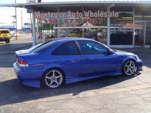 used 2000 honda civic si coupe for sale stock 6w0669 dealer car ad 25464595. Black Bedroom Furniture Sets. Home Design Ideas