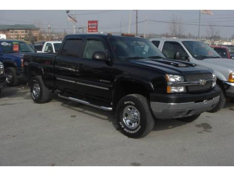 Used 2003 chevrolet silverado 2500hd ls crew cab 4x4 for for Bureau of motor vehicles bloomington indiana