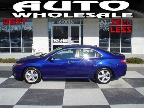 Acura  on Used 2009 Acura Tsx Sedan For Sale   Stock  Wl8071   Dealerrevs Com