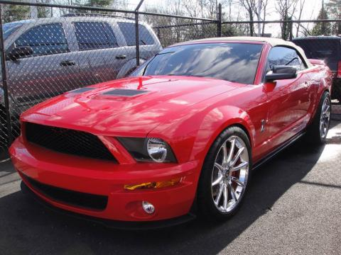 Used 2007 Ford Mustang Shelby Gt500 Convertible For Sale