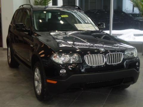 Jet Black BMW X3 XDrive30i Click To Enlarge