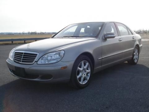 Pewter Metallic Mercedes-Benz S 500 4Matic Sedan.  Click to enlarge.