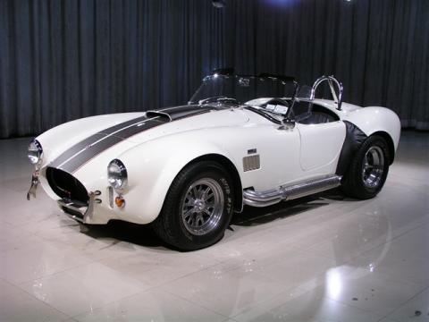 Cobra Black And White White Shelby Cobra 427