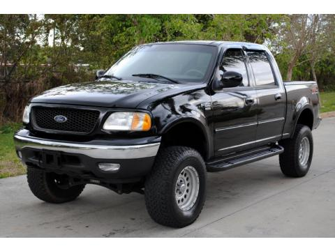 used 2003 ford f150 xlt supercrew 4x4 for sale stock b81834 dealer car ad. Black Bedroom Furniture Sets. Home Design Ideas
