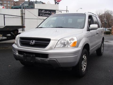 Starlight Silver Metallic Honda Pilot EX 4WD.  Click to enlarge.
