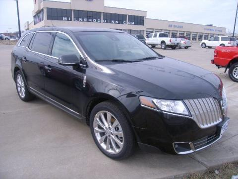 Tuxedo Black Metallic 2010 Lincoln MKT AWD EcoBoost with Charcoal Black